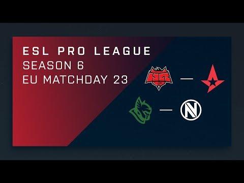 CS:GO: HellRaisers vs. Astralis | Heroic vs. NV - Day 23 - ESL Pro League Season 6 - EU Main Stream