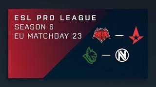 CS:GO: HellRaisers vs. Astralis   Heroic vs. NV - Day 23 - ESL Pro League Season 6 - EU Main Stream