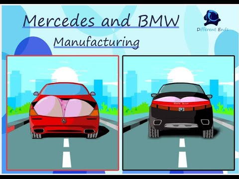 Mercedes and BMW manufacturing | The first episode