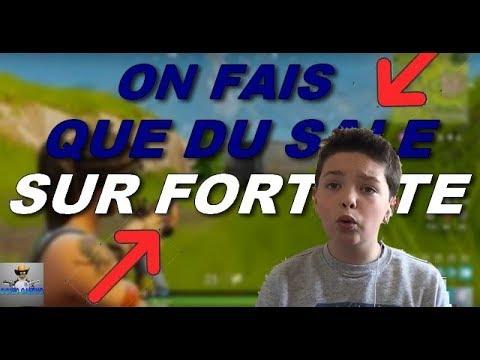 [ FACECAME LIVE FORTNITE ] JE FAIS QUE DU SALE ! TOP 1