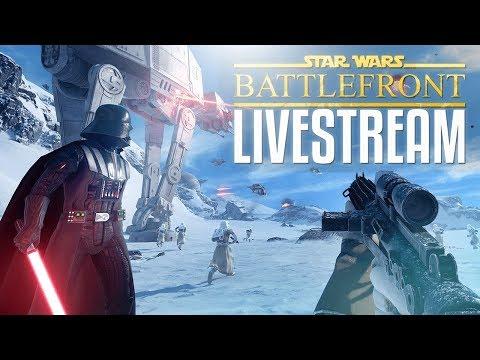 AN GALACTIC ADVENTURE - Star Wars Battlefront LIVE