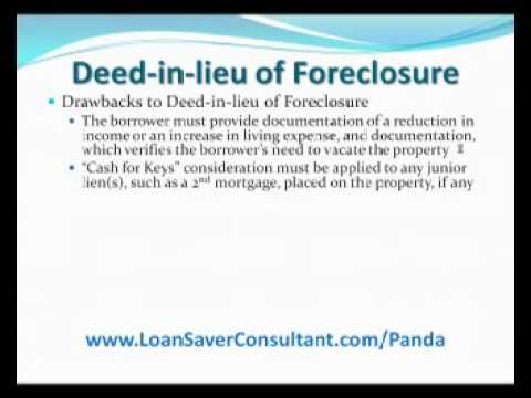 Is a Deed in lieu of Foreclosure a good option? by Tulsa'... - YouTube