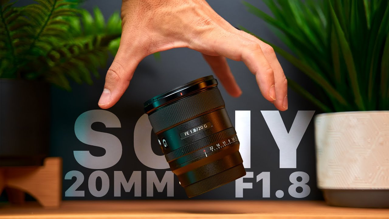 Is the Sony 20mm F1.8 The BEST Ultrawide Sony Full Frame Lens For Vlogging and Content Creation?