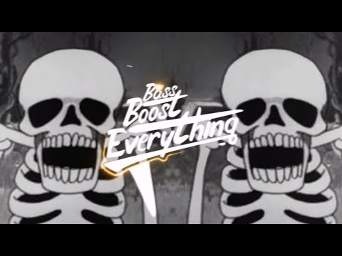 SPOOKY SCARY SKELETONS (NoXuu Trap Remix) [Bass Boosted]