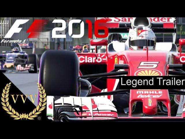 F1 2016 Create You Own Legend Trailer