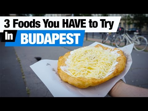 Hungarian Food - 3 Foods To Try in Budapest! (Americans Try