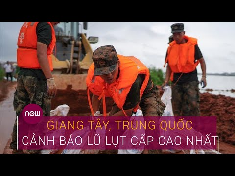 Lũ lụt Trung Quốc: Giang Tây bước vào