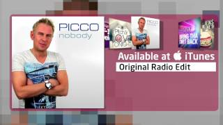 Picco - Nobody (Original Radio Edit)