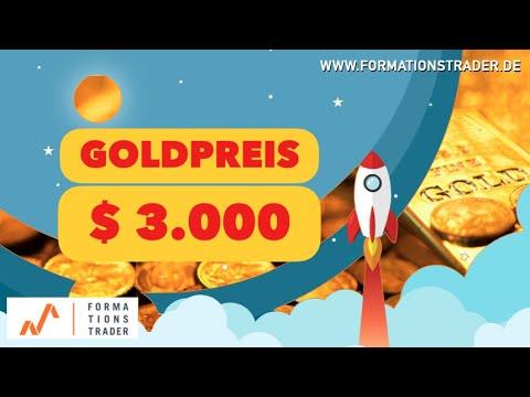 Goldpreis: Prognose 2021 - $ 3.000!!!
