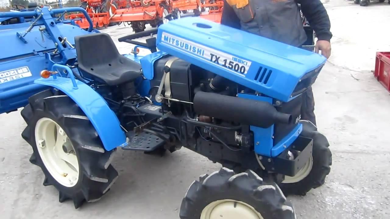 Iseki Tractor Salvage : ΤΡΑΚΤΕΡ mitsubishi iseki tx trakter