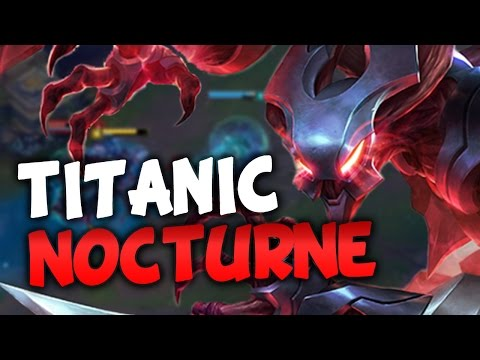 TITANIC TANKY CARRY NOCTURNE (League of Legends)