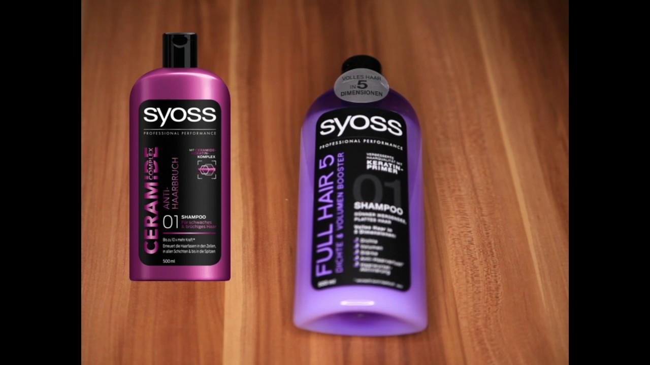 syoss shampoo anmeldelse