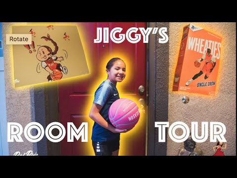 JIGGY'S EXCLUSIVE ROOM TOUR (11 YEAR OLD PRODIGY BASKETBALL PLAYER)
