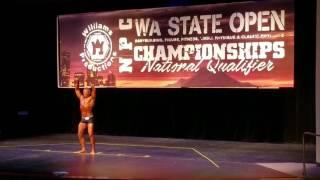 Derek Wiese Takes 3rd in Mens Physique!