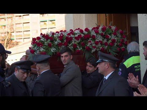Treno deragliato a Lodi, i funerali del macchinista Giuseppe Cicciù