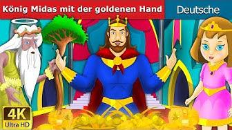 König Midas mit der goldenen Hand | Gute Nacht Geschichte | Märchen | Geschichte | Deutsche Märchen