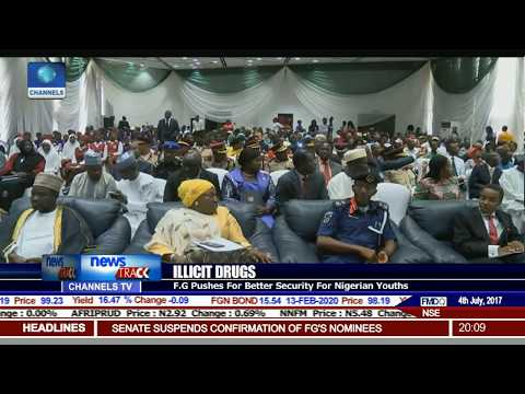 FG Pushes For Better Security To Tackle Drug Abuse