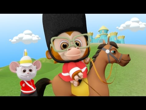 The Grand Old Duke Of York | Kids Nursery Rhymes Collection | Children Songs Compilation