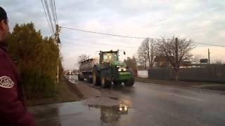 SWIERKOT convoi agricole seeder machine 2013