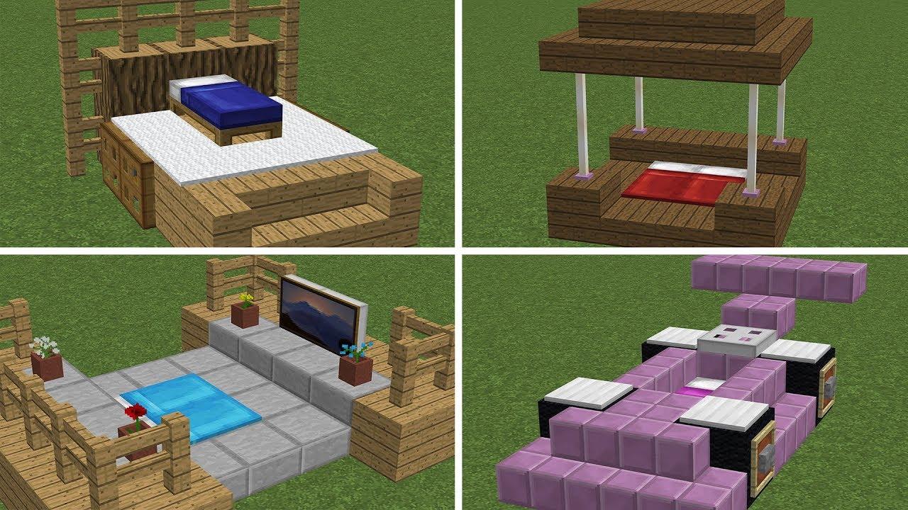 как сделать кровать в майнкрафте #4