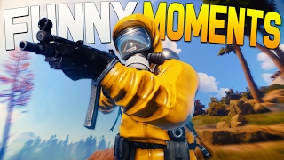 rust funny moments prank call mona lisa group raid