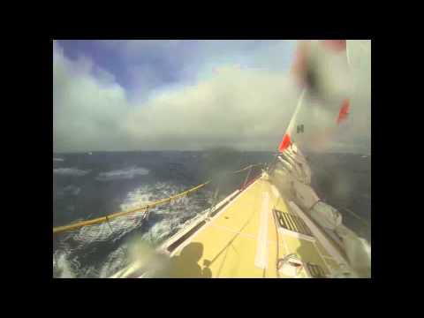 PSP Logistics races across the Pacific Ocean during Clipper Race