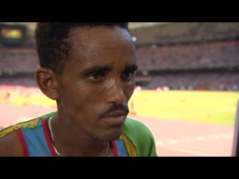 WCH 2015 Beijing - Ghirmay Ghebreslassie ERI Marathon Final Gold
