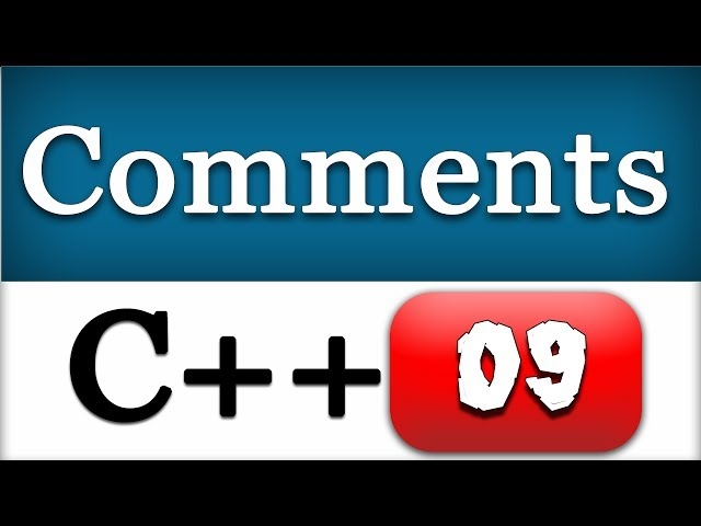09   C   Comments   CPP Programming Video Tutorials for Beginners - YouTube