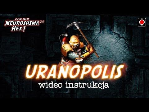 Neuroshima Hex 3.0 - Uranopolis - instrukcja