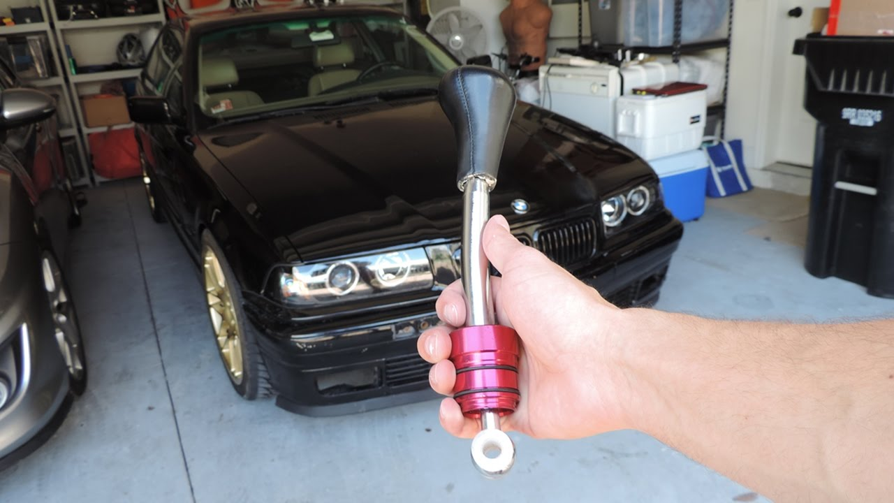 Ebay Short Shifter Instal Bmw Drift Car Youtube