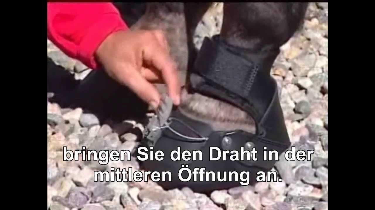 EasyCare Easyboot Epic Hufschuh - Krämer Pferdesport - YouTube