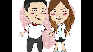 Pui & Man Wedding Presentation  20 NOV 2015(เพลง LA ONG FONG - เมื่อฉันและเธอ...ชัดชาดีดา LA ONG FONG - คนที่ฟ้าส่งมาให้รักกัน., 2015-11-22T15:25:31.000Z)