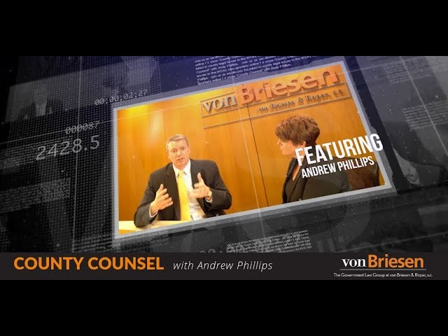 County Counsel with Andy Phillips: Episode 2 - They Did What? Investigations Done The Proper Way