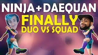 NINJA & DAEQUAN FINALLY DUO | HIGH KILL CRAZY GAME | THOUGHTS ON PATCHES - (Fortnite Battle Royale) thumbnail
