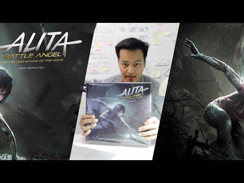 รีวิวหนังสือภาพ Alita:Battle Angel The Art and making of the movie  ในมุมคนทำซีจี