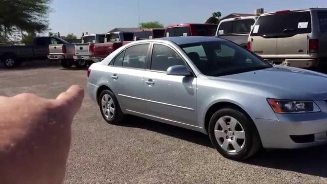 2008 Hyundai Sonata GLS   YouTube
