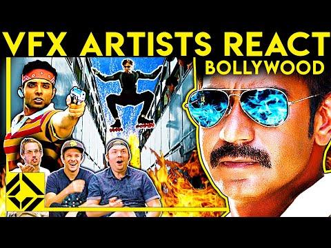 VFX Artists React to BOLLYWOOD Bad & Great CGi 4