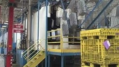 Haworth Big Rapids Components: A tour of the steel facility