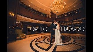 Video de Matrimonio: Loreto y Eduardo, Ritz Carlton Santiago. Matrimonios Chile.