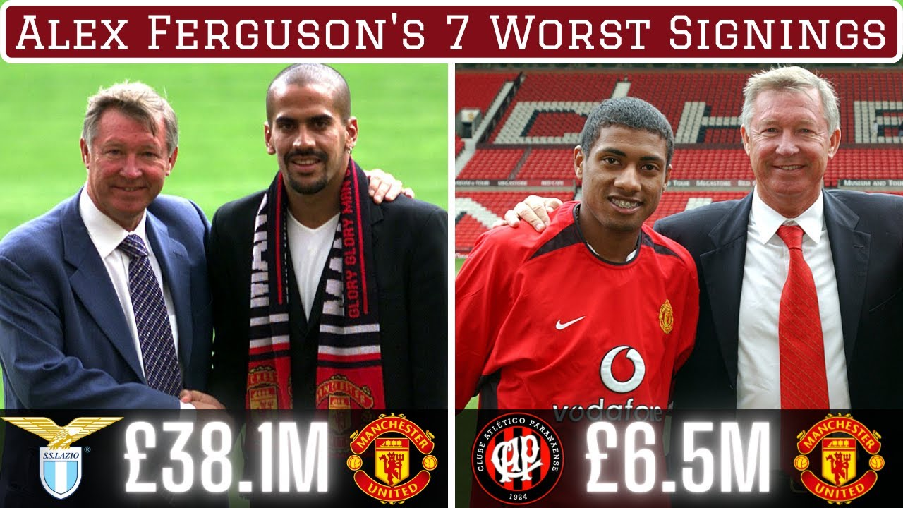 Download Sir Alex Ferguson's 7 Worst Signings Of All Time
