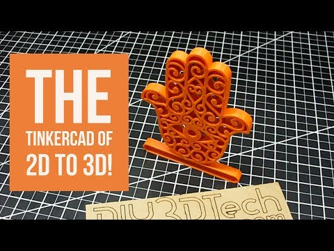 3D Printed Project - Selva3D The TinkerCad of 2D to 3D!