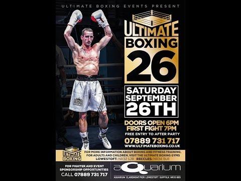 Chris Alden Vs David Pearce Exhibition Bout 4 Ultimate Boxing 26