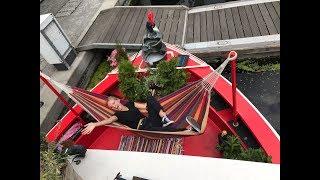 SLEEPING OUTSIDE IN LONDON | My airbnb