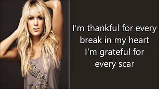 Watch Carrie Underwood Lessons Learned video