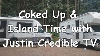 coked up island time with justin credible tv with the rvs