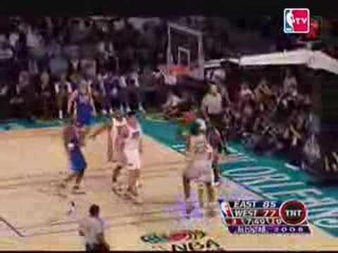 LeBron James MVP Highlights 27 All Star Game 2008