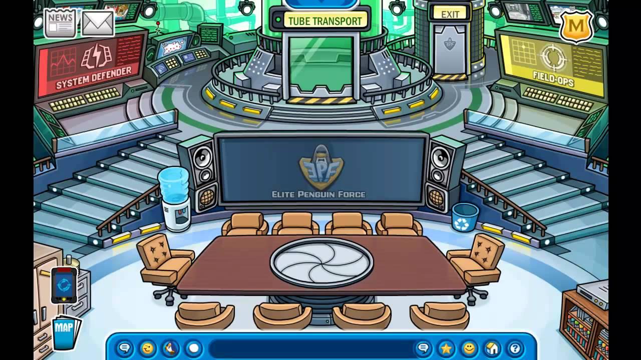 Club Penguin Make A Room