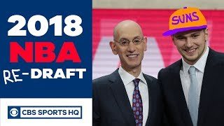 What if the Suns drafted Luka Doncic? | 2018 NBA Re-Draft | CBS Sports HQ