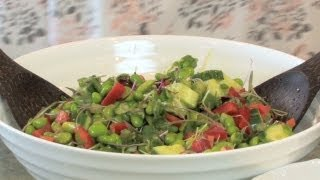 Healthy Edamame Salad - Let's Cook With Modernmom