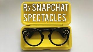 Prescription Snapchat Spectacles